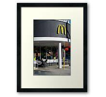 CONSUME Framed Print