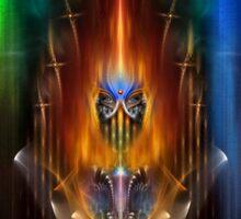 Arsencia - Goddess Of Fire Sticker