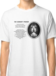 The Serenity Prayer 3 (for light colors) Classic T-Shirt