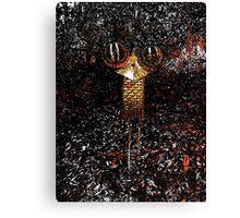 Iron Emu Canvas Print