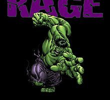 HULK RAGE!!!!! by thebarnowl
