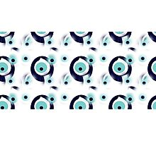 Talisman protect from Evil Eye pattern Photographic Print