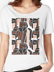 city buildings  Women's Relaxed Fit T-Shirt