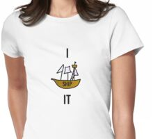 I SHIP IT Womens Fitted T-Shirt