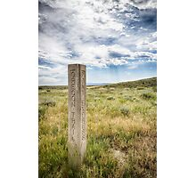 Paths Cross Photographic Print