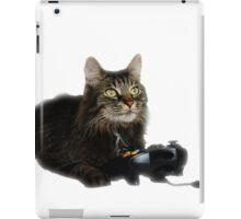 gamer cat iPad Case/Skin