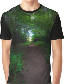 Green Tunnel Graphic T-Shirt