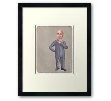 Dr. Evil Framed Print