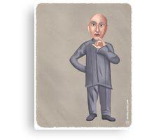 Dr. Evil Canvas Print