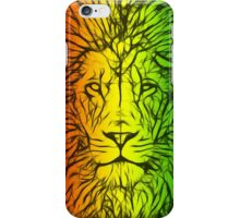 Rasta Lion numero uno iPhone Case/Skin