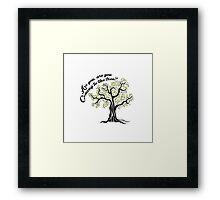 Hunger Games Hanging Tree Framed Print