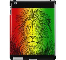 Rasta Lion numero uno iPad Case/Skin