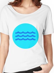 Gentle Waves  Women's Relaxed Fit T-Shirt