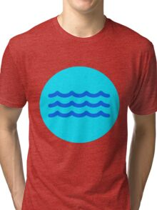 Gentle Waves  Tri-blend T-Shirt