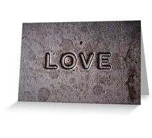 ❤ Chocolate Love ❤ Greeting Card