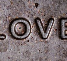 ❤ Chocolate Love ❤ Sticker
