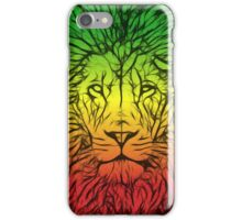 Rasta Lion numero dos iPhone Case/Skin