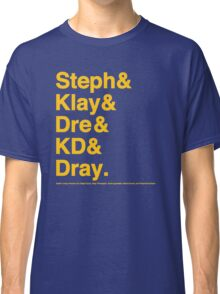 Death Lineup Version 2.0 Classic T-Shirt