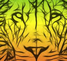Rasta Lion numero dos Sticker