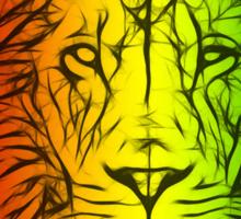 Rasta Lion numero uno Sticker