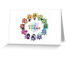 CHIBI BLEACH Greeting Card