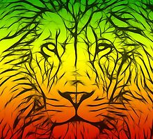 Rasta Lion numero tres by eltdesigns