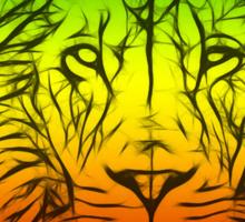 Rasta Lion numero tres Sticker