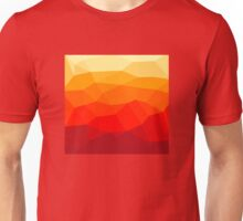Abstract polygon background Unisex T-Shirt