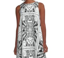 RAW POWER 23 23 23 A-Line Dress