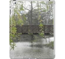 Willow over Bridge iPad Case/Skin