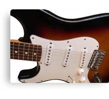 Fender Electric Guitar body Canvas Print