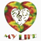 Music is my life-Clothing +Products Designd  by haya1812