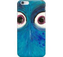 Blue fish iPhone Case/Skin