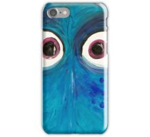 Blue fish iPhone Case/Skin