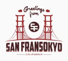 Big Hero 6: San Fransokyo Kids Tee
