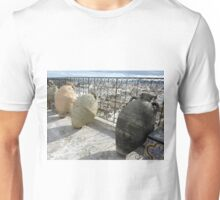 Pottery Jugs on a Tunis Roof  Unisex T-Shirt