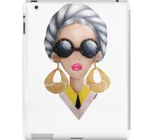 Golden Hoops  iPad Case/Skin