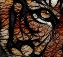 Tiger numero dos Sticker