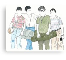 Stand By Me - Always Canvas Print
