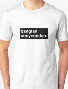 BANG BANG BANGTANSOYOUNDAN! Unisex T-Shirt