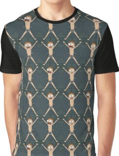Rick and Morty – Morty Shield Graphic T-Shirt