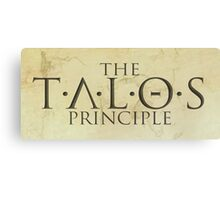 The Talos Principle Canvas Print