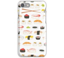 Sweet Sushi Pattern iPhone Case/Skin