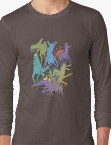 Horse on Horse on Horse Long Sleeve T-Shirt
