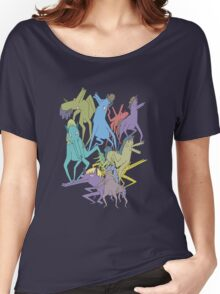 Horse on Horse on Horse Women's Relaxed Fit T-Shirt