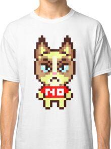 Grumpy Cat Animal Crossing Pixel Classic T-Shirt