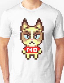 Grumpy Cat Animal Crossing Pixel T-Shirt