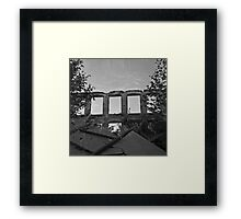 Double Exposure III Framed Print