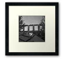 Double Exposure III Framed Print