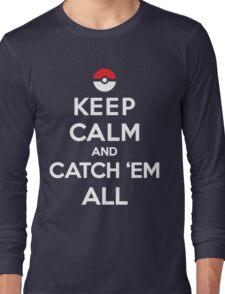 Keep Calm and Pokemon Long Sleeve T-Shirt
